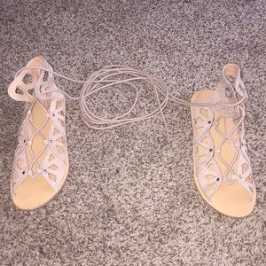 Gladiator Laced Sandals